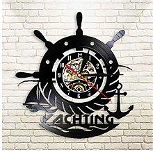 GenericBrands Vintage Record Nautical anchor