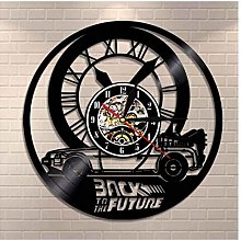 GenericBrands Vinyl Wall Clock Back to the