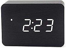 Generic Brands Wooden Digital Alarm Clock Brick,