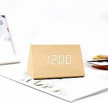 Generic Brands Wooden Digital Alarm Clock
