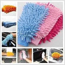Generic Chenille Cleaning Gloves Towels Cloths