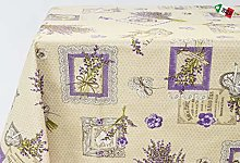 Generic Kitchen Tablecloth in Natural Cotton 100%