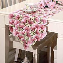 *generic Yizunnu Vintage Embroidered Table Runner