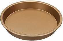 Generies 8 inch non-stick pizza pan plate round
