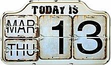 Generp Creative Calendar Decoration, Page Turning