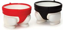 Generp Egg Cups, Egg Cup Set of 2 Pcs, Cute Sumo