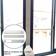 genialkiki Portable Air Conditioner Window Vent
