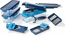 Genius Nicer Dicer Smart (14 pieces) in blue -