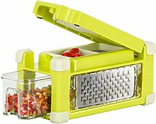 Genius vegetable and fruit slicer made of plastic,