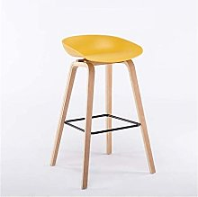 genneric Nordic Bar Stools Solid Wood Restaurant