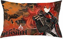 Genshin1pc Room, Sofa Pillowcase, Rectangle Zipper