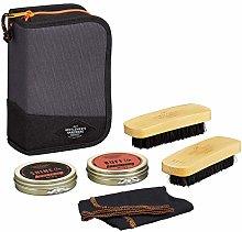 Gentlemen's Hardware Shoe Cleaning Kit, Black,