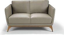 Genuine Leather 2 Seater Loveseat Sofa Angel Cerda