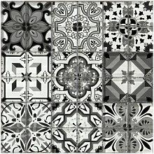 Geo Moroccan Mosaic Tile Sheet 300mm x 300mm -
