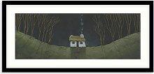 Geoff Beckett - 'Croft Cottage' Framed