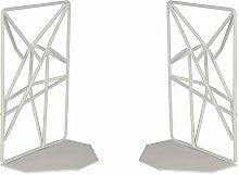 Geometric Bookends | Heavy Duty Shelf Organiser |