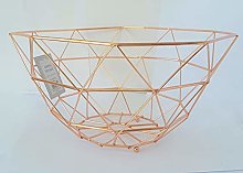 Geometric Design Wire Fruit/Vegetable Basket