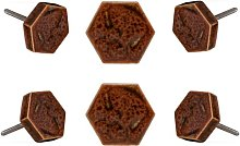 Geometric Knob Trinca-Ferro Finish: Orange