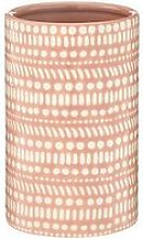 Geometric Pink Vase