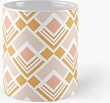 Geometric Shapes in Pastel Colors Pattern Classic