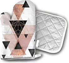 Geometric Triangles in Blush and Rose Gold Casual