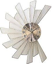 Geometric Wall Clock Art Design Silent Creative
