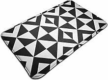 Geometrical Triangular Black And White Pattern