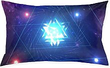 Geometry Dash1pc Room, Sofa Pillowcase, Rectangle