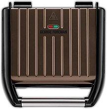 George Foreman 25043 Electric Grill, 1650 W, Dark