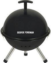 George Foreman 32cm Portable Charcoal Football BBQ
