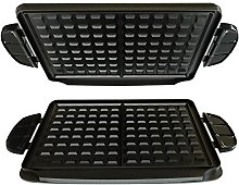 George Foreman Evolve Grill System Waffle Plates,