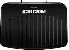 George Foreman Large Fit Grill - Black
