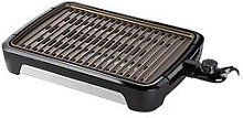 George Foreman Large Smokeless Indoor Bbq Grill -