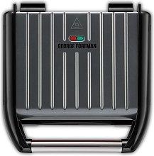 George Foreman Medium Grey Steel Grill 25041