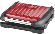 George Foreman Medium Red Steel Grill 25040