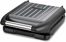 George Foreman Small Grey Steel Grill 25031