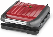 George Foreman Small Red Steel Grill 25030