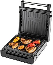 George Foreman Stainless Steel Smokeless Grill