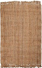 Georgetown Chunky Jute Boucle Natural Rug With