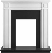 Georgian Fireplace in Pure White and Black, 39