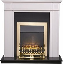 Georgian Fireplace Suite in Pure White with