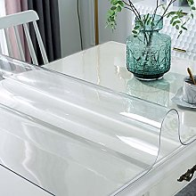 Geovne Crystal Clear Table Protector,Easy to Clean