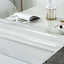 Geovne Odorless Desk Pad,Frosted Clear Table Cover