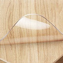 Geovne PVC Clear Table Cover Protector,3mm Soft