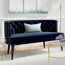 Gerber 2 Seater Settee Rosdorf Park Upholstery