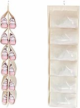 gerFogoo Family Hanging Shoe Rack Storage System,