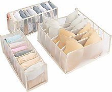 gerFogoo Foldable Underwear Storage Box, Nylon