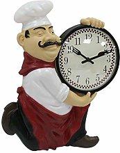 Geri Large 30cm Novelty Kitchen Clock Cheeky Baker