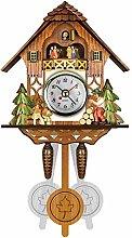 German Black Forest Cuckoo Clock, New Retro Nordic