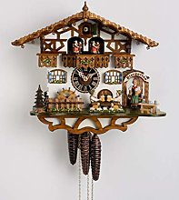 German Cuckoo Clock 1-day-movement Chalet-Style